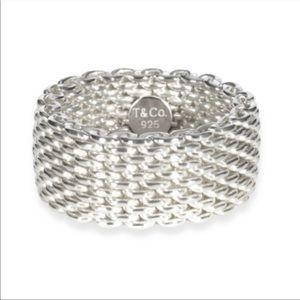 Tiffany & Co. Mesh Ring 5.5